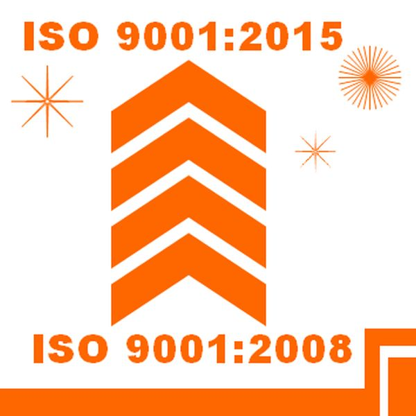 ISO 9001 2008 to 2015