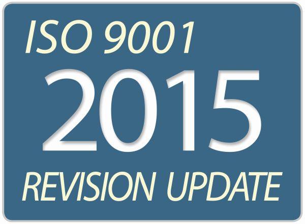 ISO 9001 2015 update